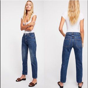 Free People | High Rise Mom Jeans NWOT Vintage 31